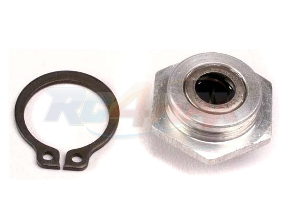 4986 Traxxas: Gear hub assembly, 1st/ one-way bearing/ snap ring