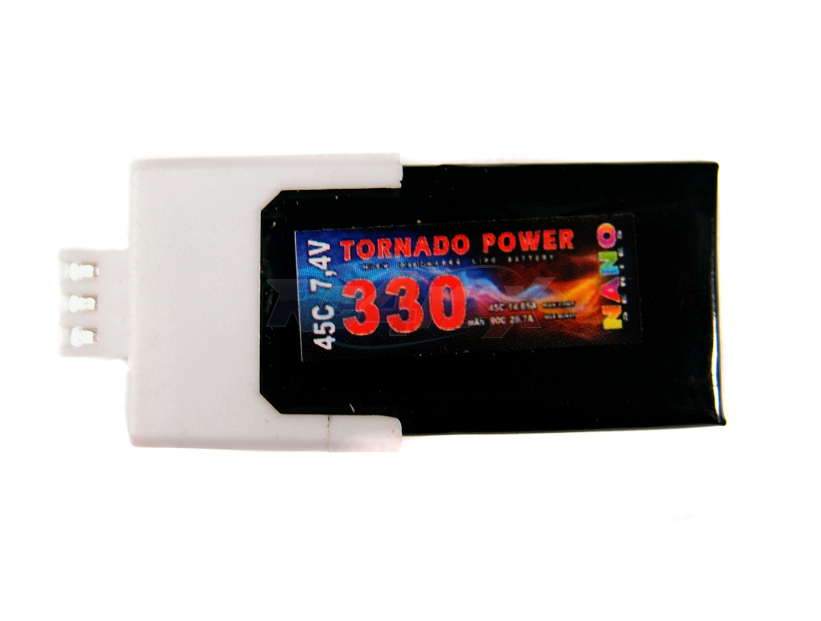 Tornado Power 7,4V 330mAh 45C NANO