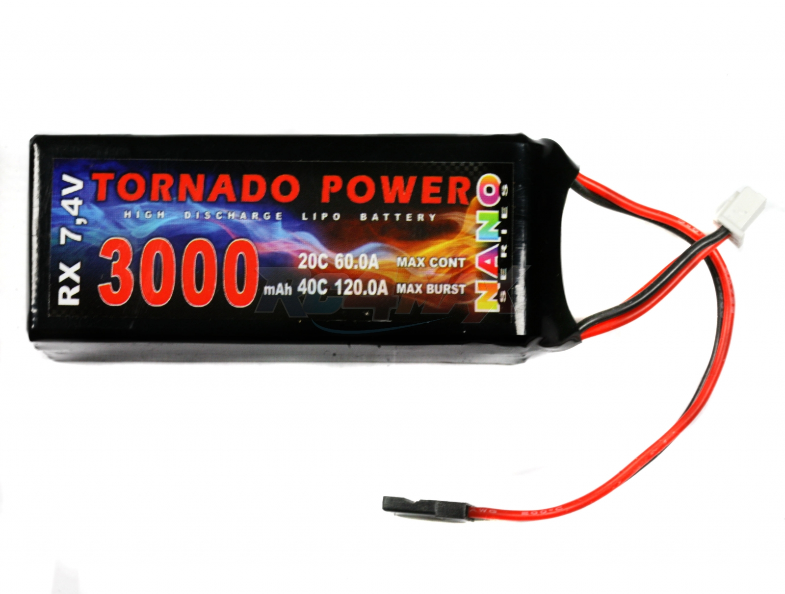 Tornado Power 7,4V 3000mAh 20C NANO (JR)