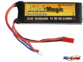 LiPol Black Magic 11.1V 950mAh 35C JST