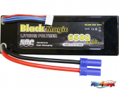 Black Magic LiPol Car 11.1V 6500mAh 50C EC5