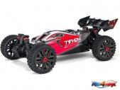 Arrma Typhon 4X4 3S BLX 1:8 4WD RTR czerwona/czarna