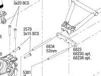 Slash 4X4 (68054-1) Rear Assembly
