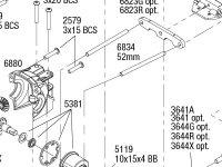 Rustler 4X4 (67064-1) Rear Assembly