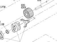 TRX-4 Unassembled Kit (82016-4) Transmission Assembly