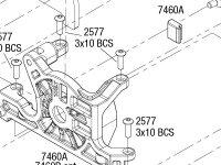 Rustler 4X4 VXL (67076-4) Transmission Assembly