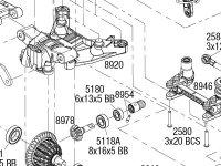 Traxxas Maxx® (89076-4) Front Assembly