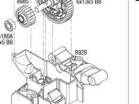Traxxas Maxx® (89076-4) Transmission Assembly