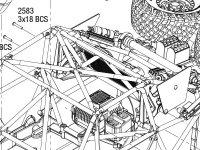 Unlimited Desert Racer (85086-4) Body & Modular Assembly