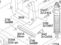 Stampede (36054-4) Front Assembly