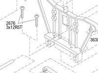 Stampede (36054-4) Rear Assembly