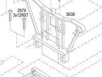 Rustler (37054-4) Rear Assembly